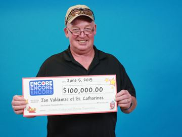 Lottery winner jan valdemar
