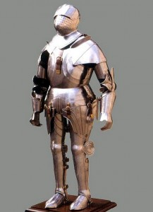 Medieval Gothic Full Suit of Armour Costume