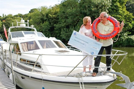 Wayne and Desiree Home win EuroMillions lottery