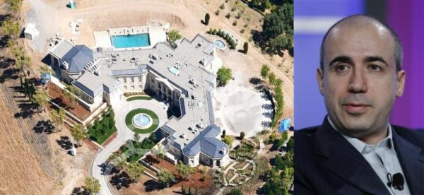 Yuri Milner 100 million USD Silicon Valley property