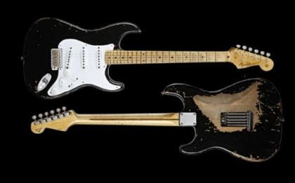 Eric Claptons Fender Blackie Stratocaster guitar