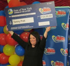 lottery winner tammy pratt
