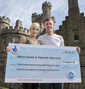 euromillions winner barry howie