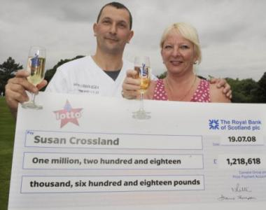 uk lottery winner susan crossland