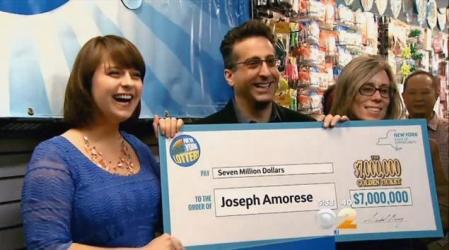 lottery winner joseph amorese
