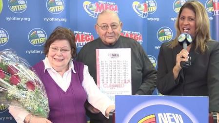 lottery winner harold diamond
