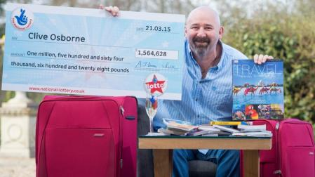 uk lottery winner clive osborne