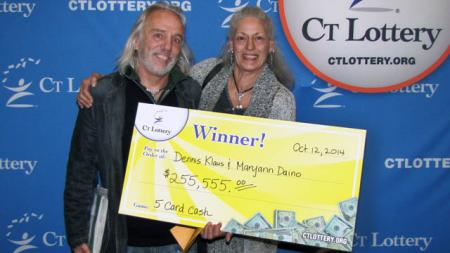 lottery winners dennis klaus and maryann daino