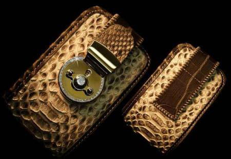 Diamond Studded iPhone Wallet