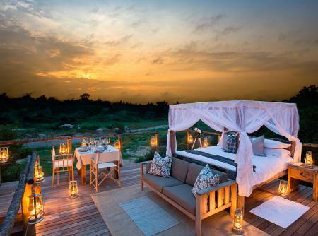 Tinyeleti Treehouse Kruger National Park South Africa