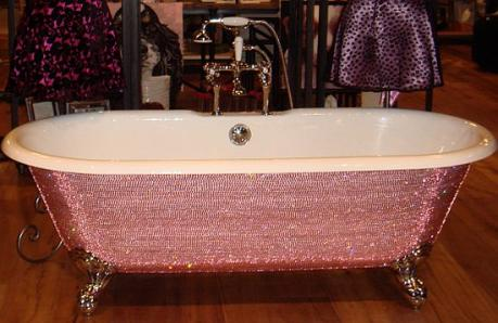 giant lottos swarovski bathtub
