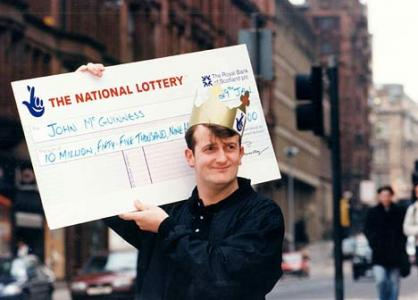 lottery winner John McGuiness