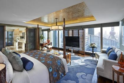 The Presidential Suite at the Mandarin Oriental