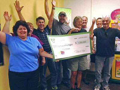 awesome eight lottery winners