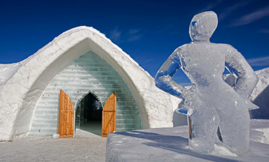 giant lottos vacations the ice hotel