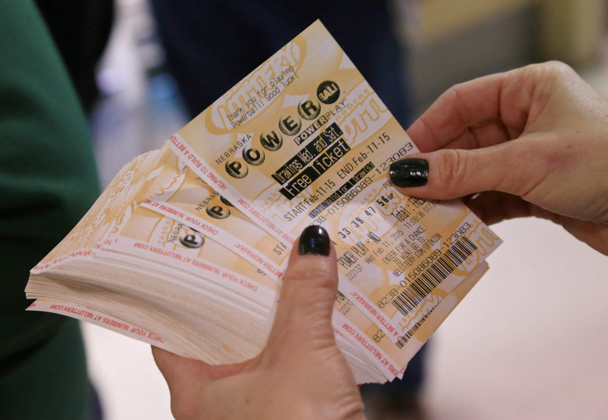 You Should Check Your Lottery Tickets Now > Win The Lottery