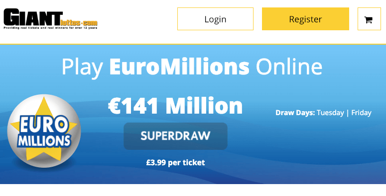Buy EuroMillions Tickets Online | Buy Your Tickets to The